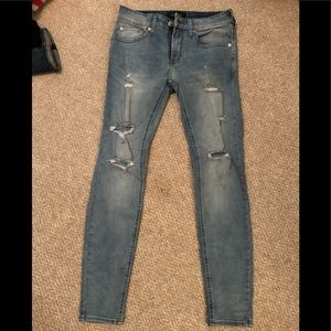 Pacsun Skinny Distressed Jeans 28/30